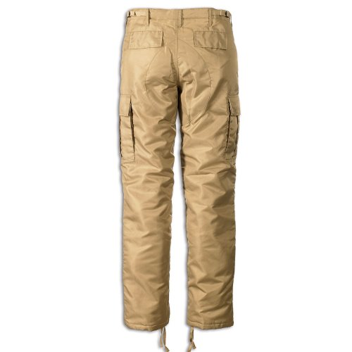 Brandit Pantalon cargo thermique, pour homme Beige