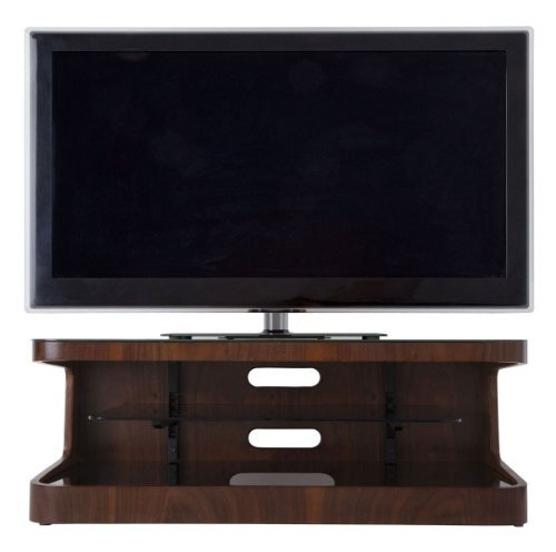 AVF Winchester Walnut TV Stand for up to 55 inch Best Price and Cheapest
