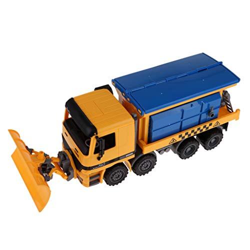 chiwanji Schneekehrmaschine Stadtbau Schneepflug Diecast Schneefräse Auto Für Kinder Spielzeug