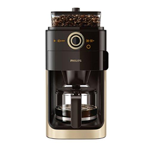Philips Grind & Brew HD7768/90 Filter-Kaffeemaschine (Mahlwerk, Timerfunktion) champagner/schwarz