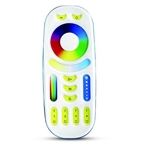 milight 2.4g rf wireless 4-zone rgb + 2 fernbedienungen zu kontrollieren milight rgbcct wifi led - glühbirne 6w 9w 12w, 4w gu10 mr16,35w 50w flutlicht, led - strip - controller, auch die neueste version rgbw - serie (Wo Ist Mi)