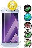 Smartphone-Equipment [2er Pack] Panzerglas für Samsung Galaxy A5 2017 Echt-Hartglas 9H, Glasfolie Schutzfolie Glas Folie Panzerfolie Display Schutz