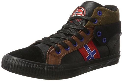 Nebulus Sneaker Schwarz EU 43 (Herren Flyer Leder)
