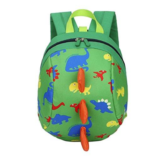 Bambino ragazzi ragazze bambini dinosauro modello animali zaino bambino piccolo scuola borsa