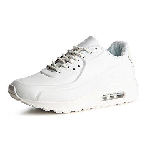 topschuhe24785Femme Sneaker Chaussures de sport Blanc - Blanc