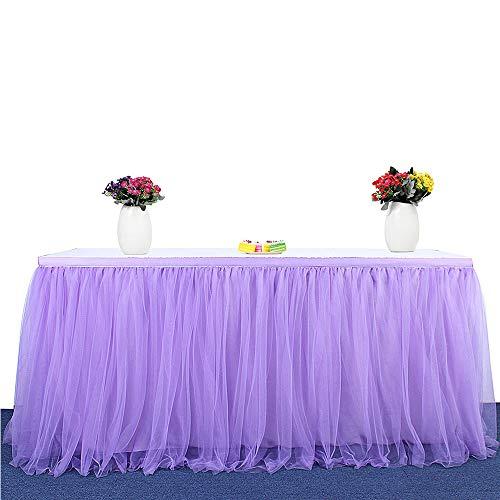 6ft Mantel de mesa para fiestas