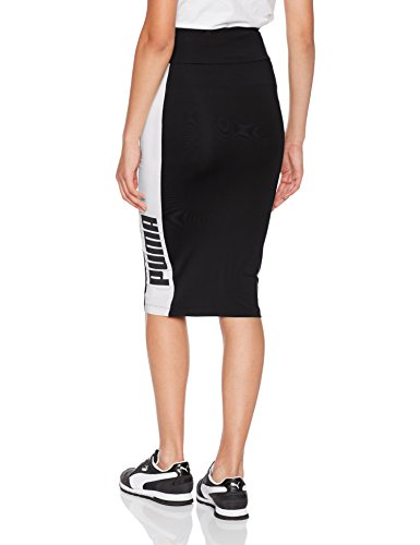 Puma Damen Archive Logo Pencil Skirt Rock puma black