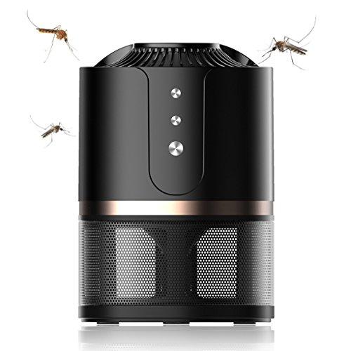 Indoor Insect Control Flies Lámpara de Mosquitos de plástico/Negro hogar luz de Barrido Interior Mudo Mujeres Embarazadas bebé Enchufe Mosquito/Mosquito/Mosquito artefacto / 5 * 5 * 7 Pulgadas