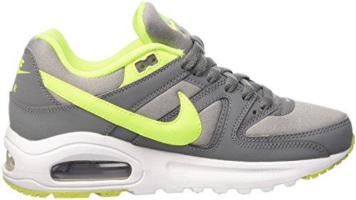 Nike Air Max Command Flex, Scarpe da Ginnastica Basse Unisex-Bambini Grigio (Grau/Fluo Gelb)