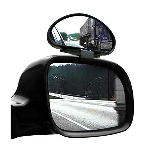 TRIXES 2 x verstellbare Autorückspiegel Zusatzspiegel gegen toten Winkel