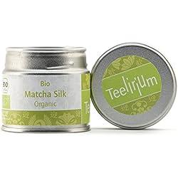Bio Matcha-Tee original aus Japan, 30g Vakuum Aromadose [ green tea - ceremonial grade ] Wellness - Vegan - Superfood. Ein Energy Booster - Silk Organic von Teelirium