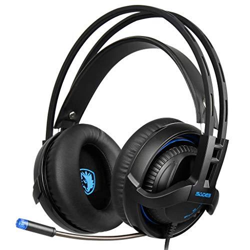 Cimaybeauty Gaming-Headset mit Mikrofon, 3,5 mm