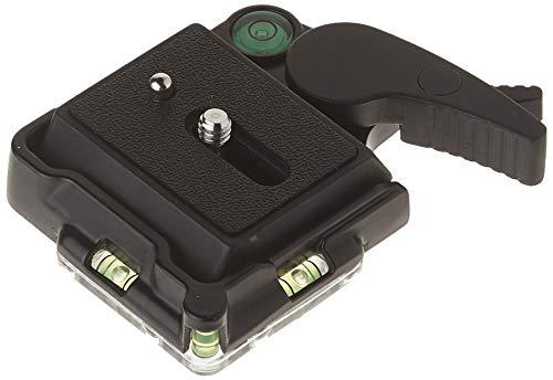 Neewer® Schwarz Aluminiumlegierung schnelle Freigabe QR-Platten-Adapter mit