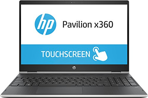 HP Pavilion x360 15 i3 15.6 inch IPS SSD Convertible Silver