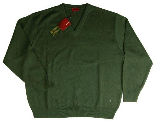 GabicciHerren Pullover, Einfarbig Grün - Olive