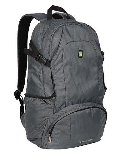 ZQ OIWAS Outdoor-Aktivitäten Doppel-Schulter-Rucksack-Tasche Purple