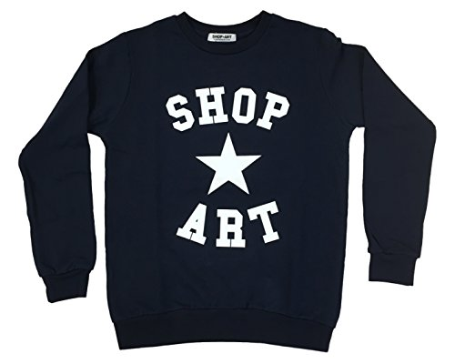 SHOP ART - Sweat-shirt - Femme Bleu