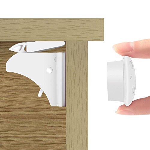 Die Öffnung Der Schranken 1.5 (Haofy Sicherheitsschloss Baby Magnetschloss MagicLock - die unsichtbare Kindersicherung, Unsichtbarer Magic Lock 4 Magnet Schlösser 1 Schlüssel)