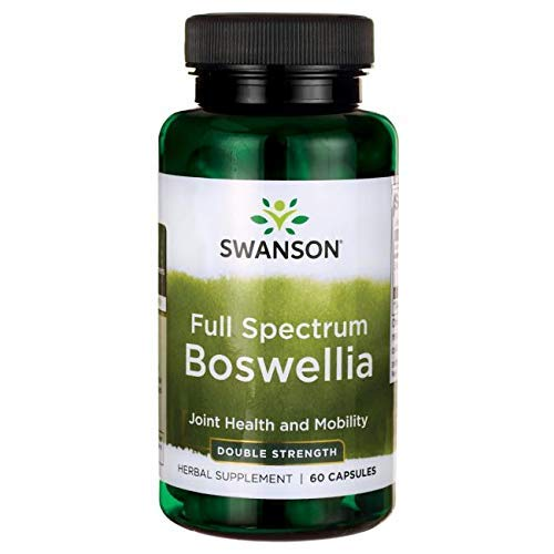 Swanson Full Spectrum Boswellia Double Strength Capsules, 800 mg, Pack of 60 Capsules