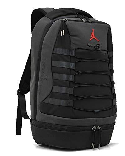 Nike Air Jordan Retro 10 Backpack (One Size, White/Blue) (Jordan Schuhe Rucksack)