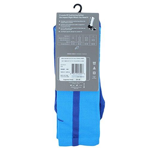 Nike crew chaussettes hyperelite de basket Multicolore - Noir/bleu
