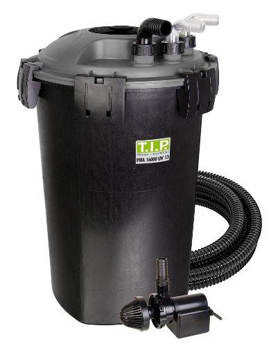 T.I.P. Teichdruckfilter PMA 16000 UV 13, UV-C 13 Watt, für Teiche bis zu 16.000 Liter