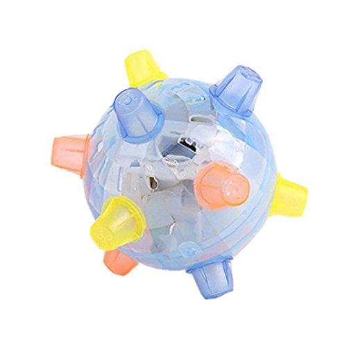 Kolimo LED-Licht Jumping Aktivierung Ball Light Musik Flashing Bouncing Spielzeug