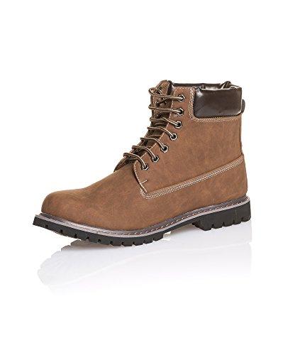 BLZ Jeans - Chaussures Montantes Marron pour Homme