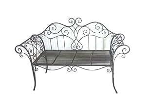 metall gartenbank nostalgische gartenbank. Black Bedroom Furniture Sets. Home Design Ideas