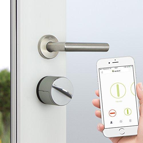Dana Lock V3–SmartLock electrónico bluetooth–Candado para puerta automática Apertura de puerta–Para iPhone y Android–Smart Home