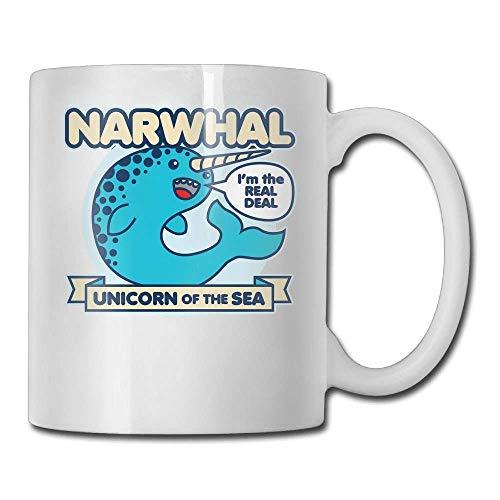 FOOOKL Narwhal 11oz Tea Cup Coffee Mug