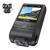 APEMAN Dashcam Autokamera Dual Lens Full HD 1080P Vorne und 720p Hinten Kamera 170° Weitwinkel mit 2-Zoll-IPS Bildschirm, G-Sensor, WDR, GPS, Loop-Aufnahme, Bewegungserkennung, Parkmonitor