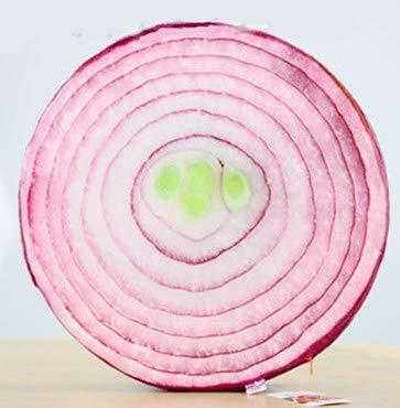 issen Kissen Funny Watermelon Orange Spielzeug Puppen Sofa Home Dekoration Geschenk Geburtstags-Hochzeit Kissen die Zwiebel ()