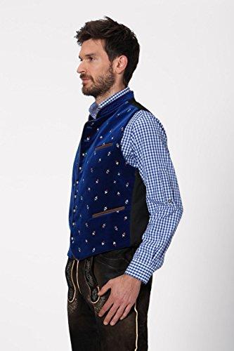 Stockerpoint - Herren Trachten Weste in verschiedenen Farbtönen, Calzado, Größe:64, Farbe:Royale - 3