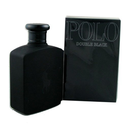 Profumo ralph lauren polo double black eau de toilette, 125 ml spray uomo