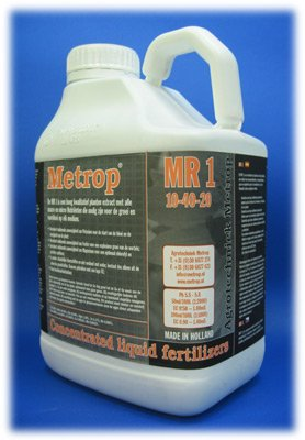 metrop MR1 5L 5000 ml abono Alimentos Dung Hydro Tierra Top Grow líquido