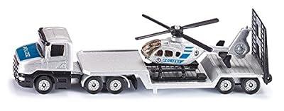 Siku 1610 - Tieflader mit Hubschrauber von SIKU