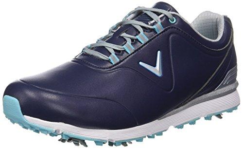 Callaway Lady Mulligan, Chaussures de Golf Femme, (Bleu Marine), 37 EU