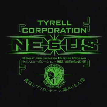 TEXLAB - Nexus 6 Replicants - Langarm T-Shirt Dunkelblau