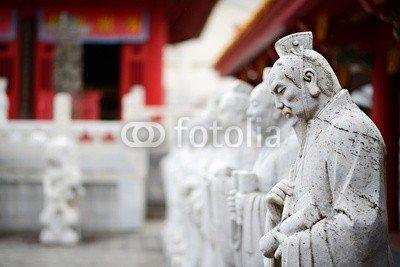 """Poster-Bild 50 x 30 cm: """"Confucius Shrine in Nagasaki Japan"""", Bild auf Poster"""