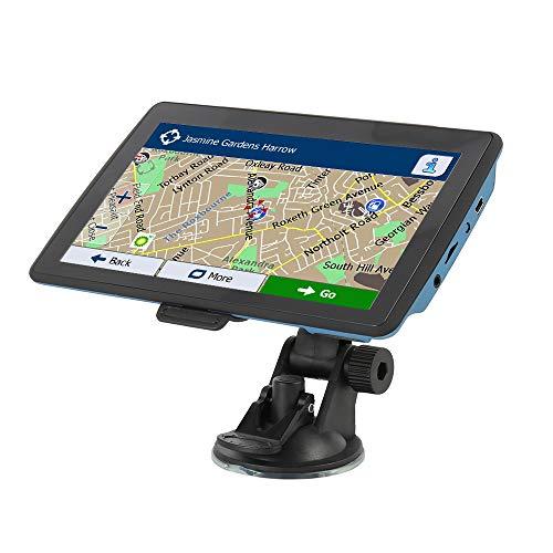 GPS Navigation für Auto LKW 7 Zoll HD Touchscreen 4G Vorinstallierte UK- und EU-Karten 2018