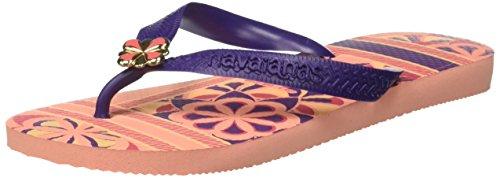 Havaianas Ladies Gracia Toe Separator Rosa (seta Rosa)