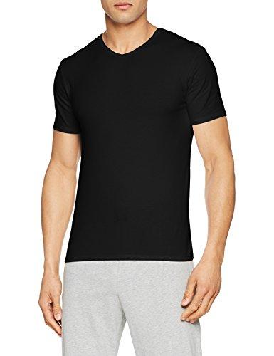 Abanderado ASA040X, Camiseta X-Temp con Manga corta para Hombre, Negro, X-Large (Tamaño del fabricante:XL/56)