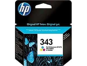 C8766EE#301 HP Ink Crtrg 343 Cyan, Magenta, Gelb HP 343 Blister Cyan, Magenta, Gelb Blister. Für HP Deskjet, Officejet, PSC.