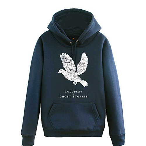 CosDaddy® Rock Band Herbst Winter Schwarz Sweatershirt Kapuzenpullover Cosplay Kostüm (M, (Hip Hop Neue Kostüme)
