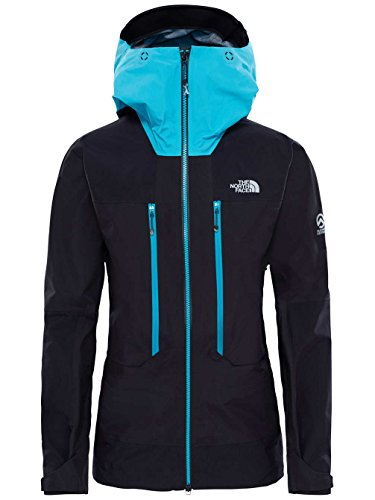 North Face W Summit L5 GTX Pro Jacket – Jacke, Damen, Schwarz (TNF Black/Bluebird)