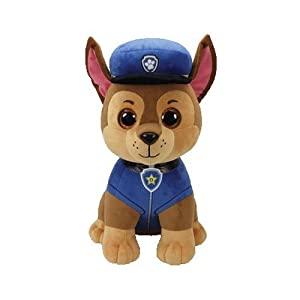 Ty- Patrulla Canina, Chase, 23 cm (United Labels Ibérica 96319TY)