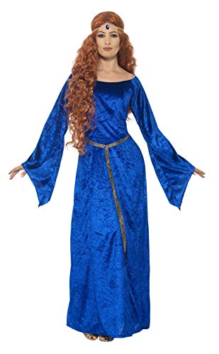 Smiffy's 44683l Mujer Medieval Maid Disfraz (grande)