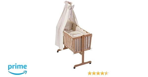 Easy baby wiegenset sleeping bear natur: amazon.de: baby