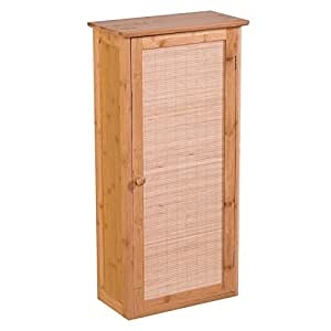 badezimmerschrank badzimmer regal badschrank bambus holz. Black Bedroom Furniture Sets. Home Design Ideas